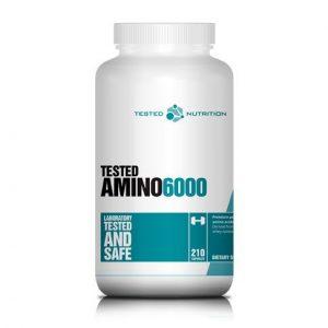 Tested Nutrition Aminos 6000 210 kapsul