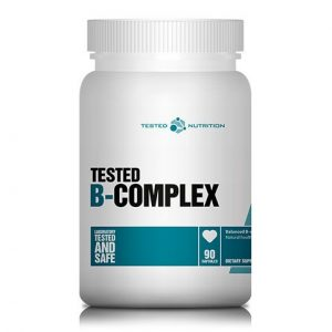 Tested Nutrition B-complex 90 kapsul