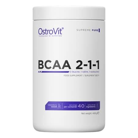 OstroVit BCAA 2.1.1 400g Natural