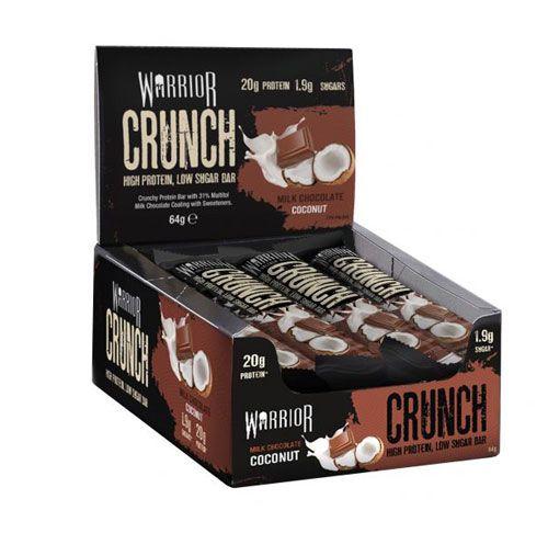 Warrior Crunch Bar 64g coconut