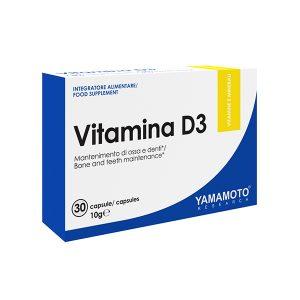 Yamamoto Vit D3 30 kapsul