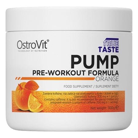 OstroVit PUMP Pre-Workout Formula 300 g Orange