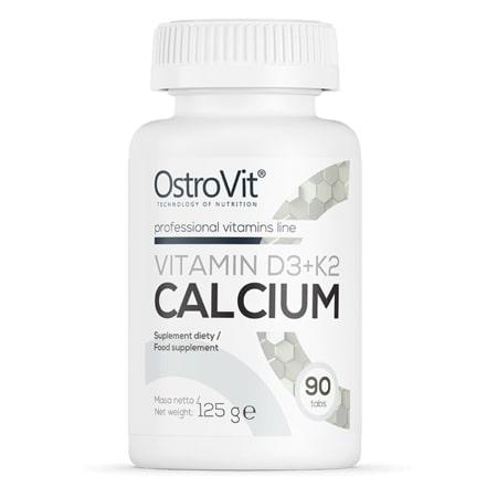 OstroVit Vitamin D3+K2+Calcium 90 tablet