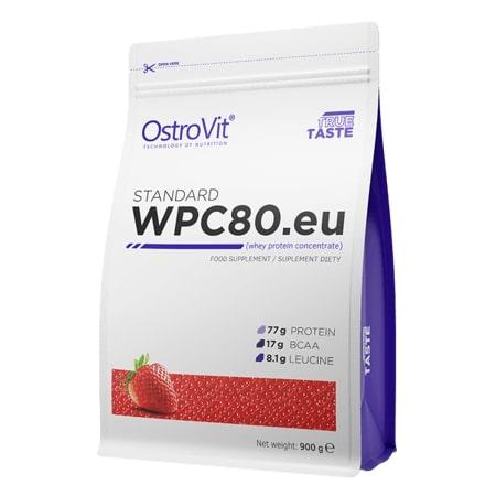 OstroVit WPC80 900g Strawberry