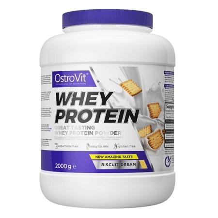 OstroVit Whey Protein 2000g Biscuit-2