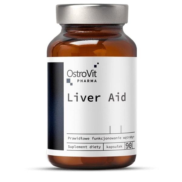 OstroVit Pharma Liver Aid 90 kapsul