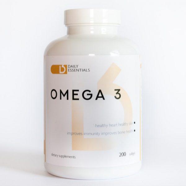Daily Essentials Omega 3 200 kapsul
