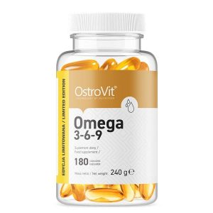 OstroVit Omega 3-6-9 180 kapsul (1)